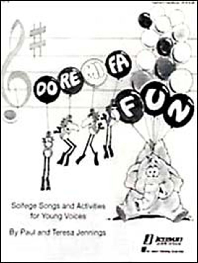 DO-RE-MI-FA FUN - SINGER'S EDITION - Solfege Songs and Activities for Young Voices. Based on Kodaly, this book offers a wide variety of sequenced activities to make learning solfege syllables fun. Designed to supplement and reinforce current solfege curriculum. Singers Edition includes solfege syllables, words and music for all of the songs presented in the Teacher's Edition (Q383).
