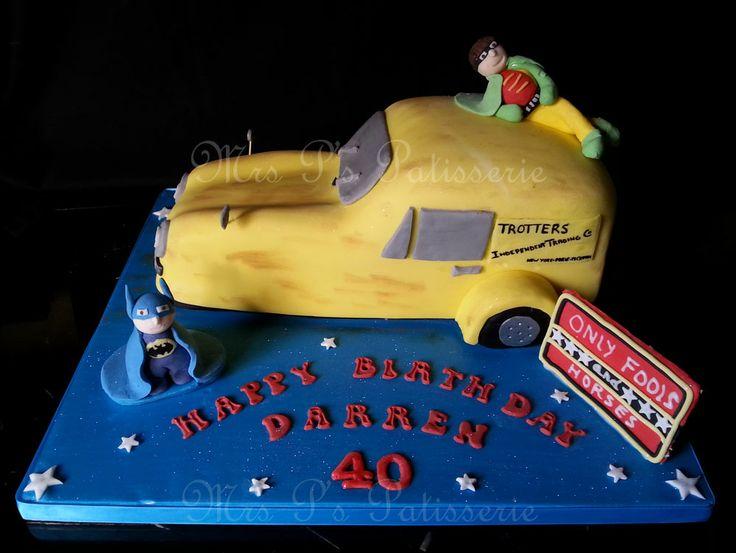 Boy S Birthday Cake