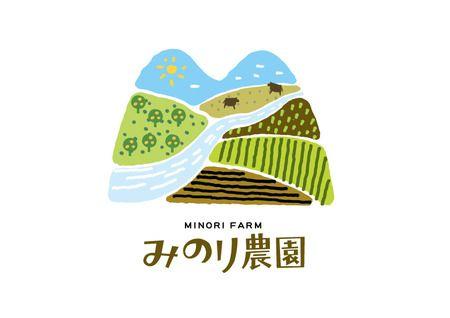 農畜産業会社みのり農園のロゴ - marukeiさんの提案