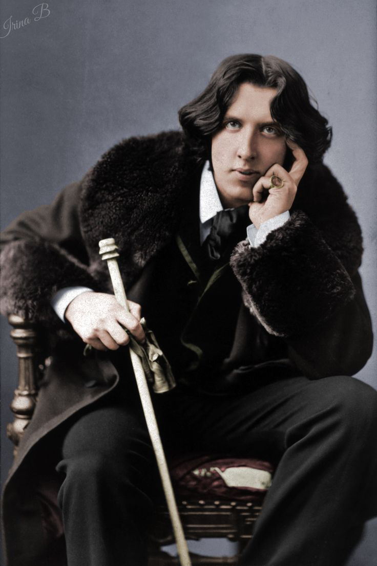 "polardandy: "" Oscar Wilde photographed by Napoleon Sarony, 1882 my colorization """
