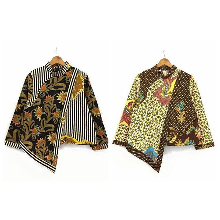Baju Batik Lengan Panjang Vector: 1988 Best Dress Batik Images On Pinterest