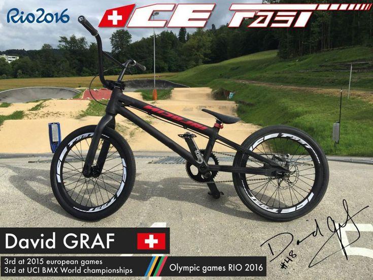 Swiss BMX Olympic Athlete David Graf Has A Sick Bike