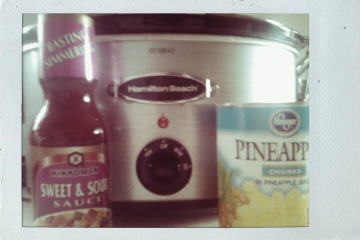 Athena Bee's: Simple Sweet and Sour Crock Pot Chicken