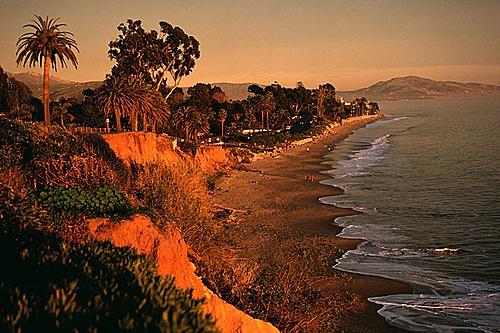 Butterfly Beach, Montecito, California