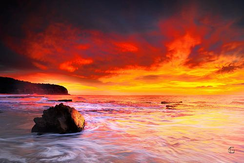 Title: The Power of Present Moment Location: Turimetta Beach