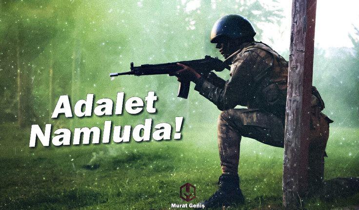 Adalet Namluda! #TürkSilahlıKuvvetleri #Türkçü #Asker