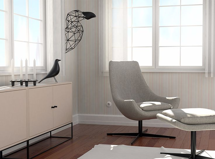 Great Auk | Animal Trophy - a 3D model by VECTARY | VECTARY    This vegan trophy of Great Auk is a tribute to animals that went extinct because of human activity.  3D modeled in VECTARY using our plugin called Joints and Wires