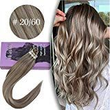 Youngsee 16inch 20pcs Tape in Remy Human Hair Exte…