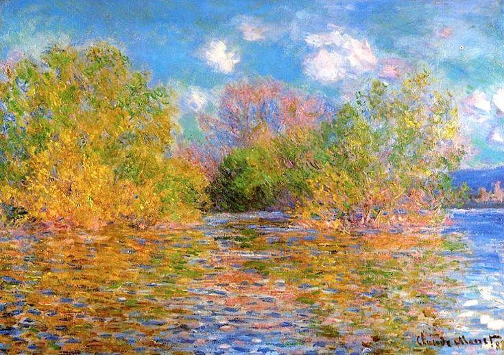 Claude Monet  The Seine near Giverny  1888