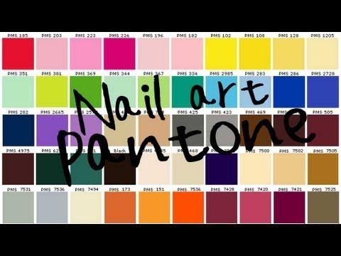 Pantone Nails art!