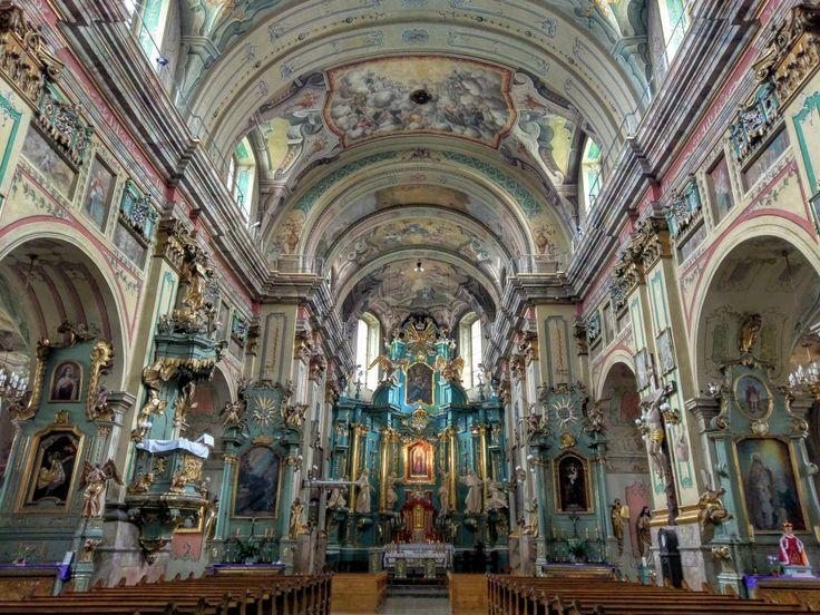 Kościół o.Franciszkanów w Przemyślu. Franciscan fathers church in Przemyśl, Poland.
