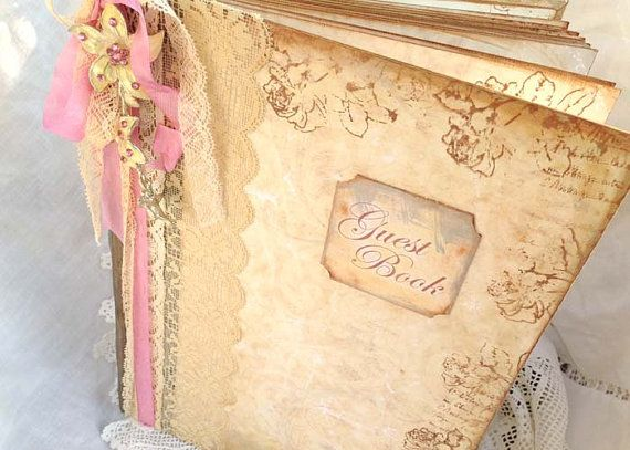 A4 Wedding Guest Book  200 pages by youruniquescrapbook on Etsy, £169.00