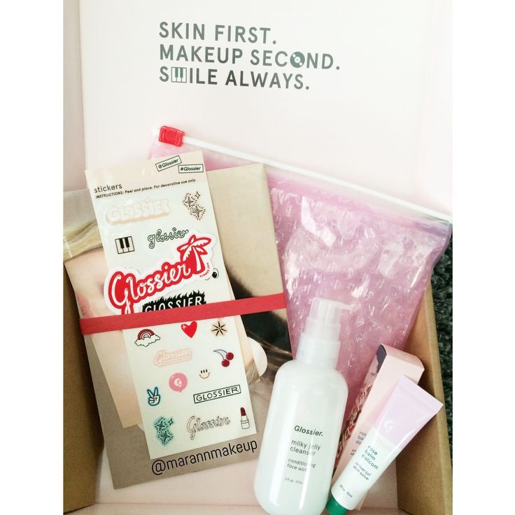 Glossier's packaging is so thoughtful! Check out their ...