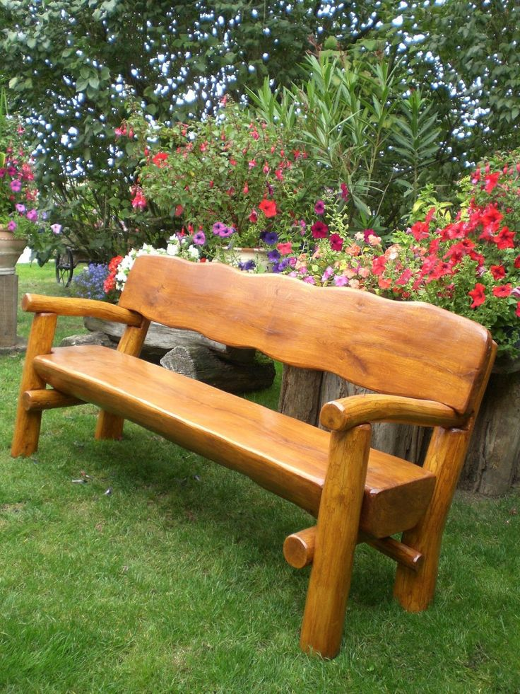 252 besten Holz Gartenbank Bilder auf Pinterest | Balkon, Gartenbank ...