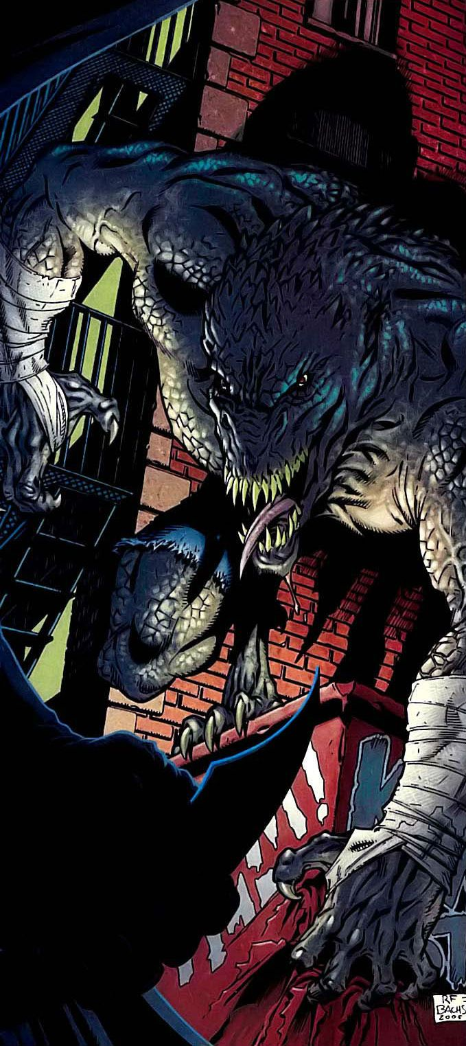 Even more Killer croc and poison ivy that would