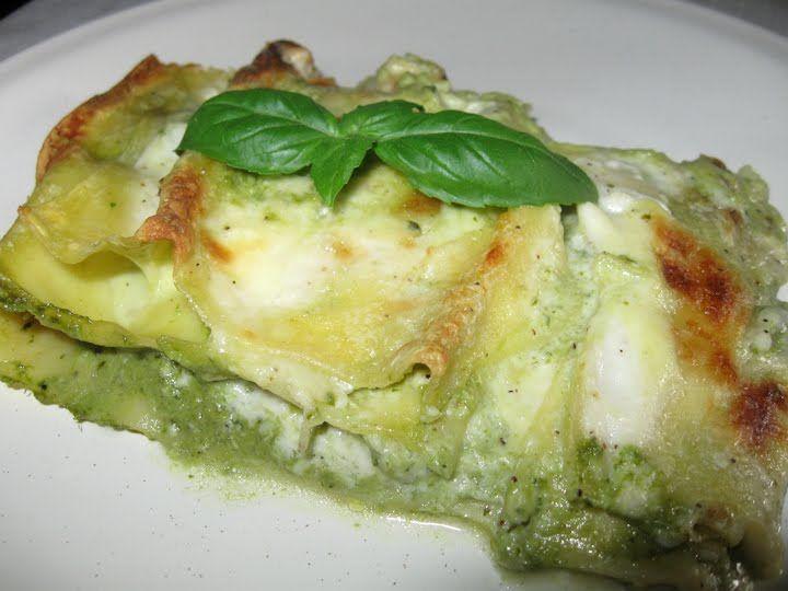 Lasagna al pesto Hotel Saraceno 4 stelle