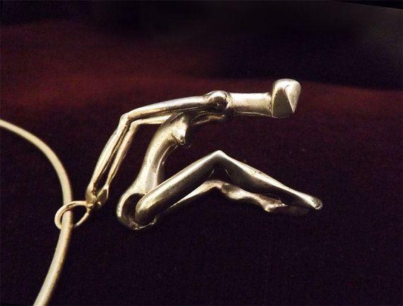 Puppet Charm Pendant Doll Necklace Female Pendant by BonTonJoyaux