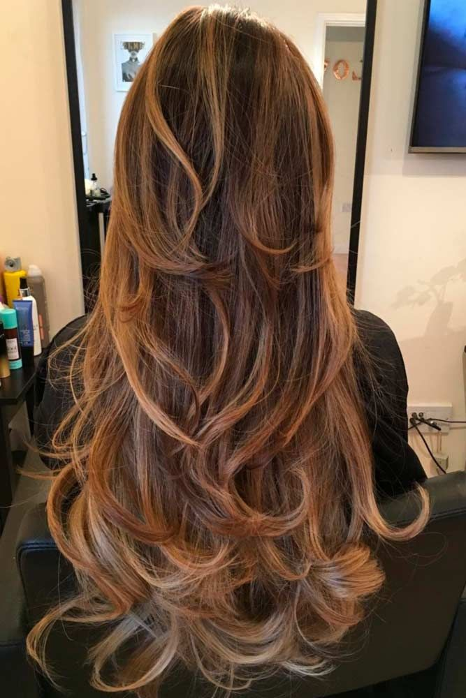 how to cut even hair layers