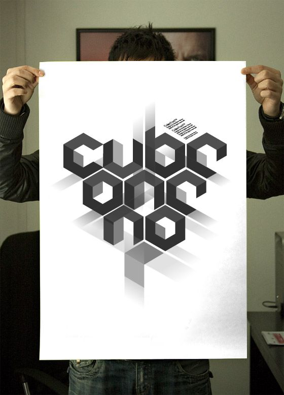 Cube 02™ is applicable for any type of graphic design – web, print, motion graphics etc and perfect for t-shirts and other items like logos, pictograms.