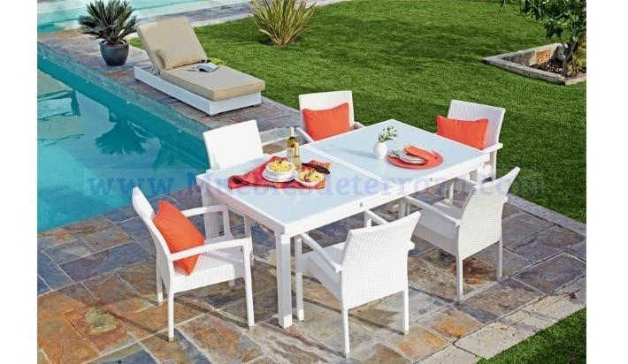 7 best images about muebles de exterior rattan on pinterest - Muebles de exterior leroy merlin ...