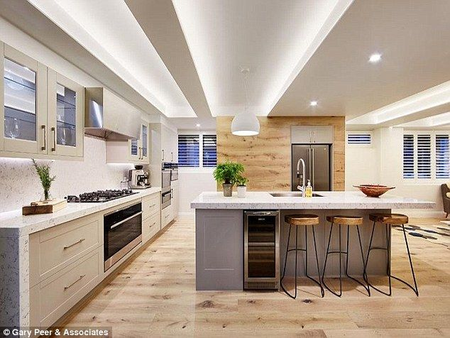 Heart of the home: Jess and Ayden's kitchen won the challenge and many buyers' good opinio...
