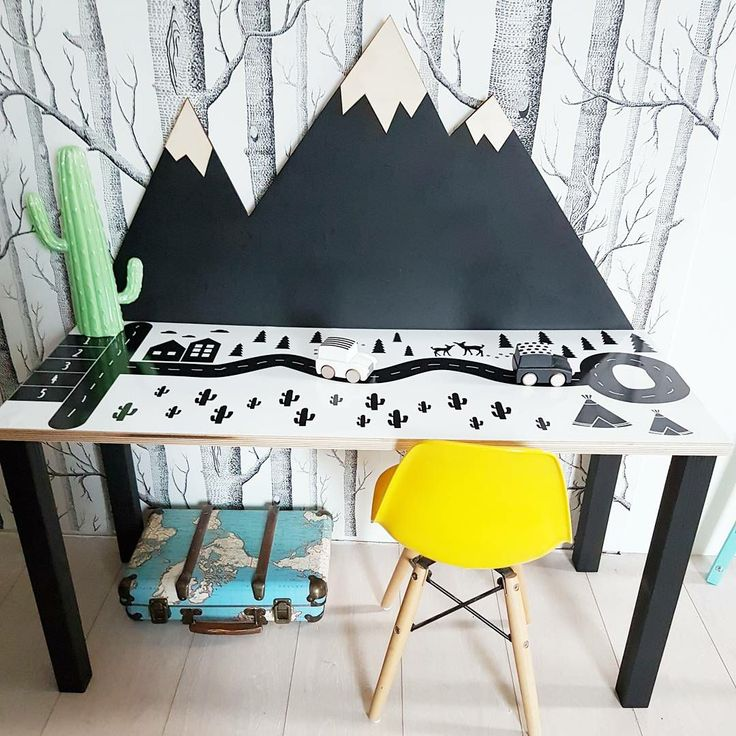Adventure desk designed and hand made by Wild One Design http://wild-one-design.com/