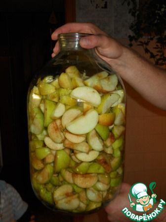 Яблочный сидр - кулинарный рецепт