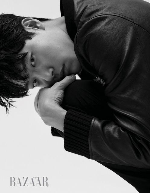 Ryu Joon Yeol - Harper's Bazaar February '17