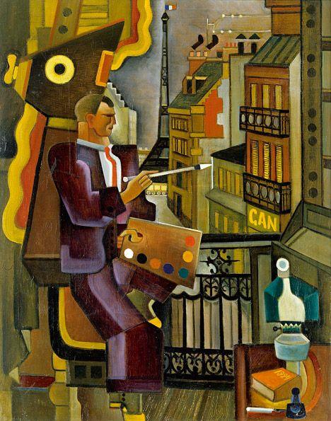Le paintre, 1924