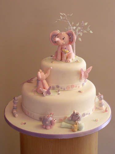 christening-2-tier-pink-animals lo res, via Flickr.