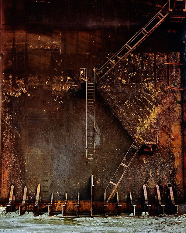 Shipbreaking # 38,  Chittagong, Bangladesh 2001 by Edward Burtynsky