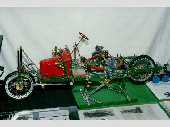 Meccano Wolseley two wheeled Gyrocar - David Hobson ...