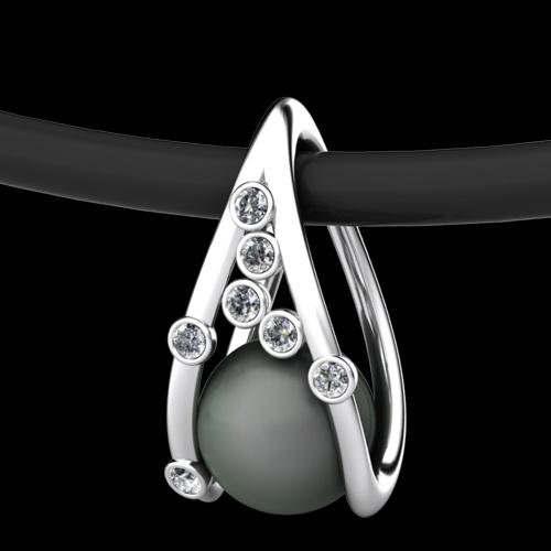 Erik Stewart. Palladium, diamonds and Pearl