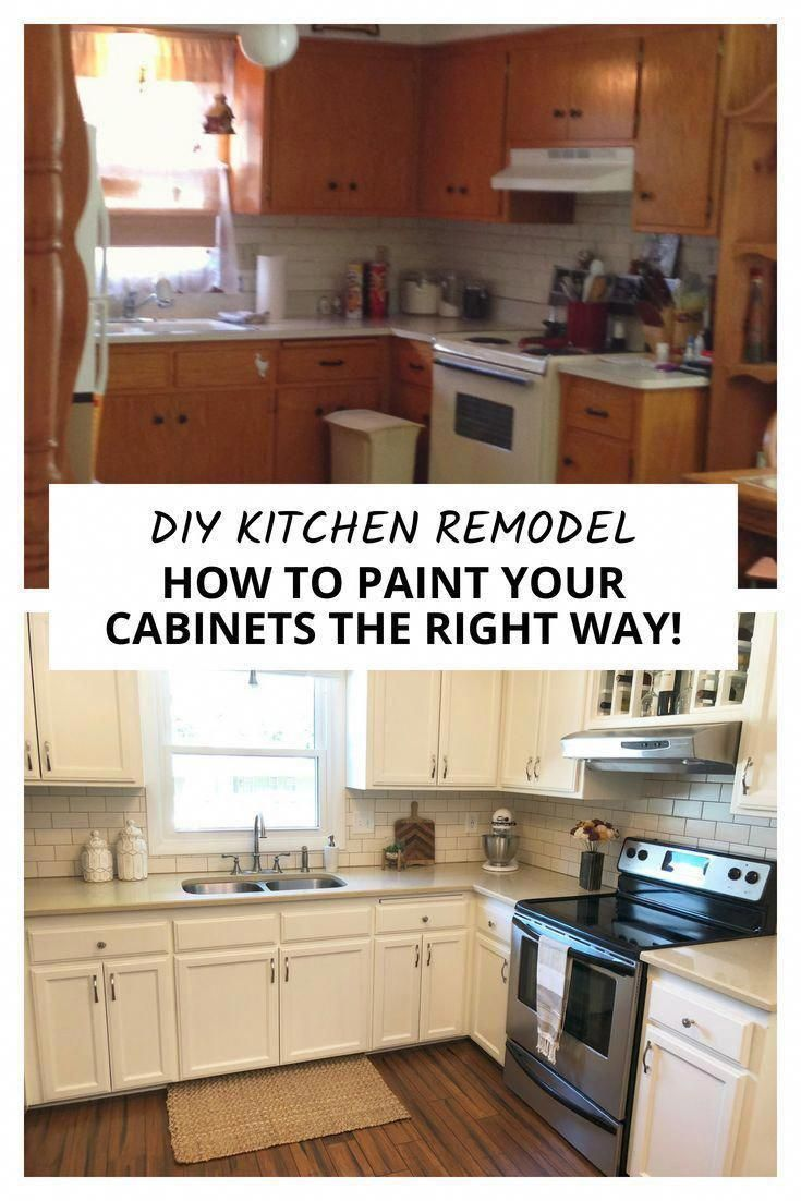Awesome Attractive Looking Kitchen Cabinet Makeover In 2020 Diy Kitchen Renovation Diy Kitchen Remodel Diy Kitchen Cabinets