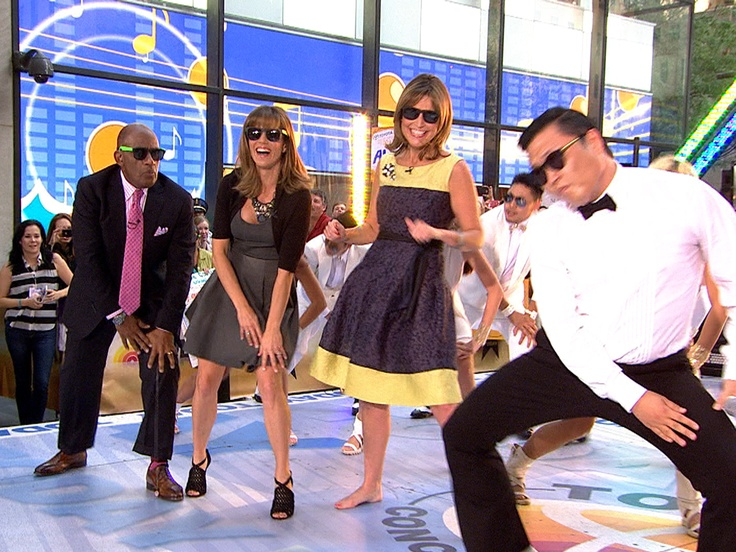 Bust a move! TODAY anchors dance 'Gangnam Style': Gangnam Style