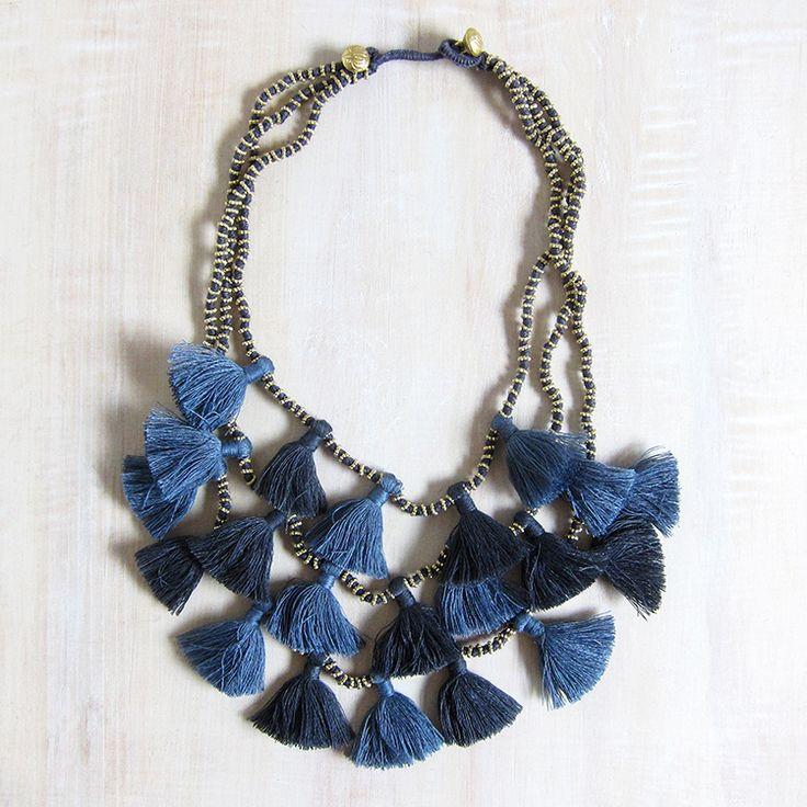Bluma Project Gia necklace - gunmetal