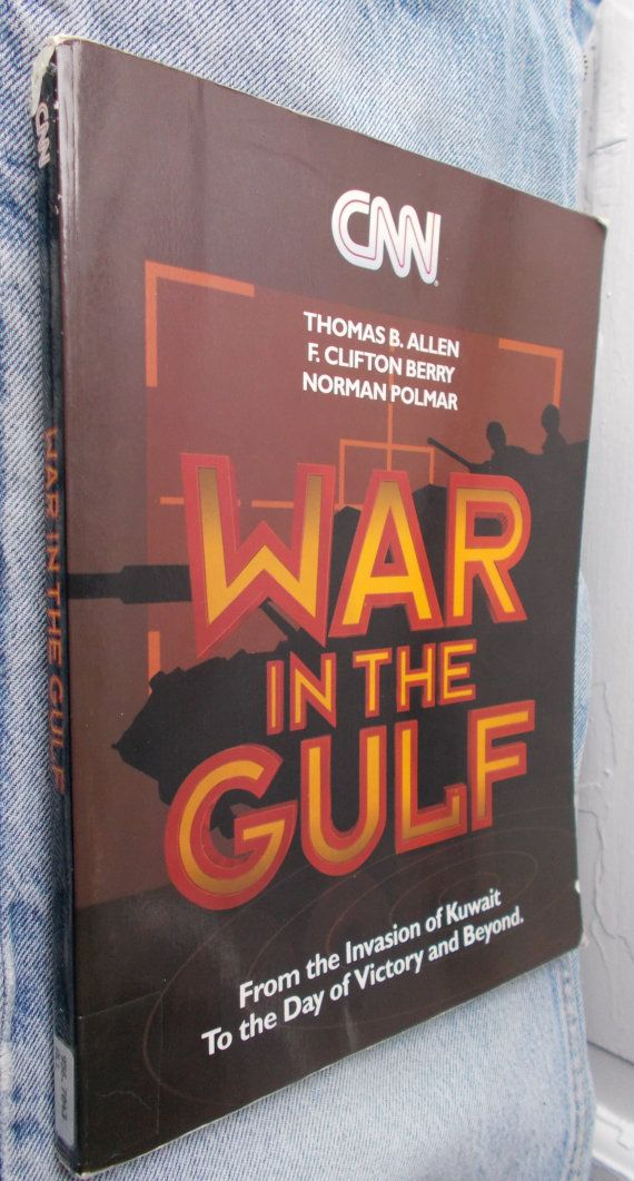 Vintage CNN War in the Gulf 1991 First Edition by ShopHereVintage