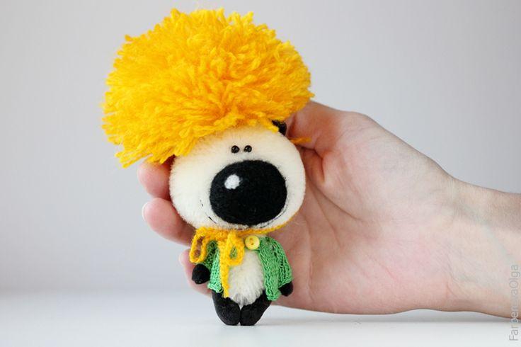 Mr. Dandelion - OOAK Collectible Miniature Teddy Bear