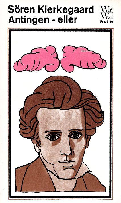 Sören Kierkegaard - Antingen-eller   by Book Cover Lover