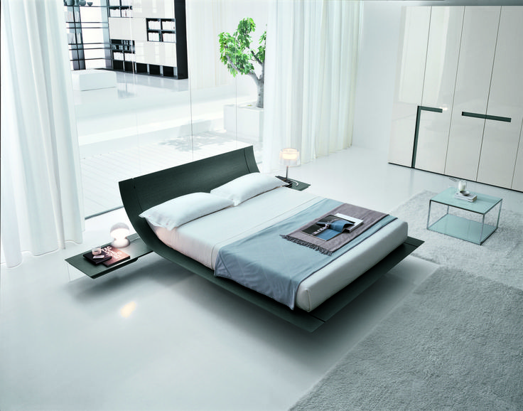 22 best curve bed platform images on Pinterest Beds, Bed - modernes bett design trends 2012