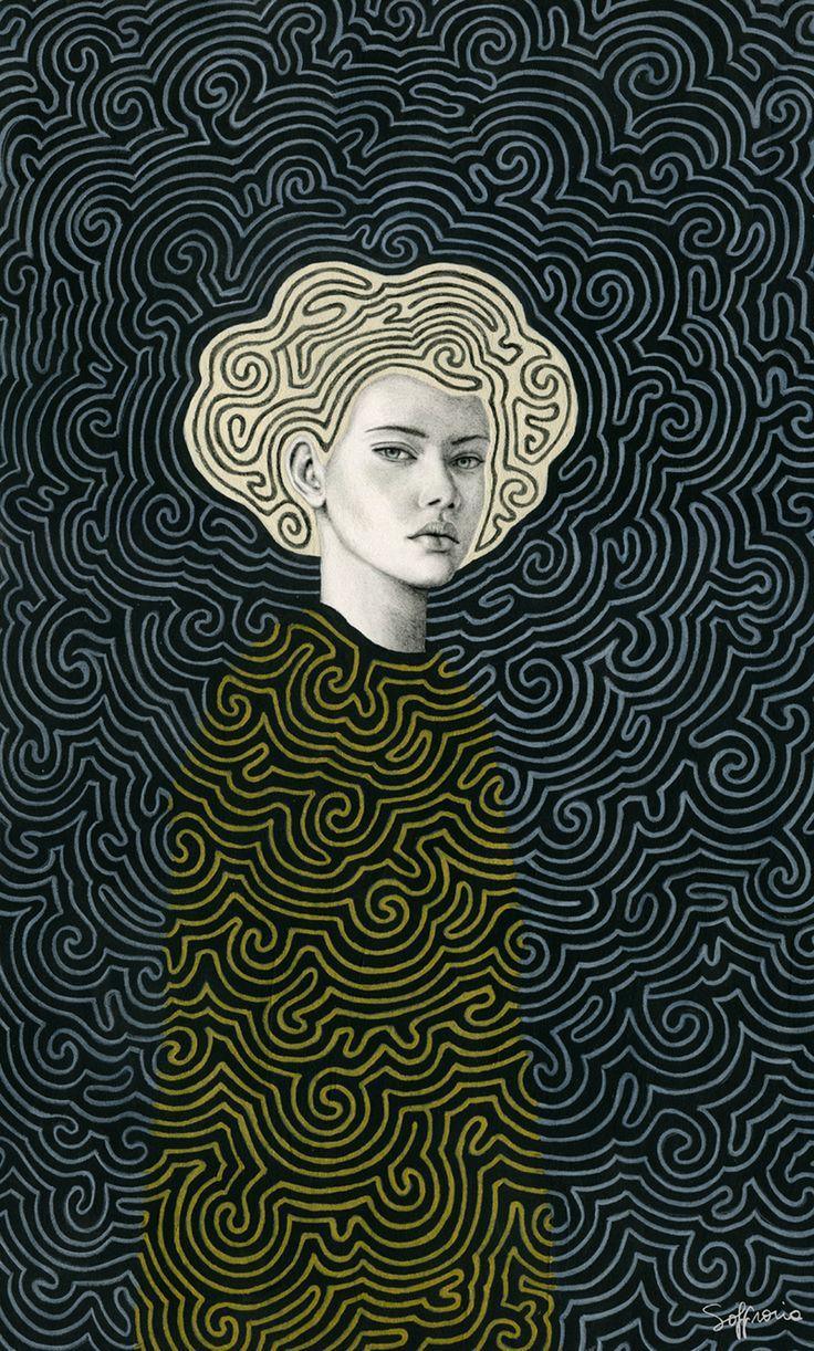 Sofia Bonati |Illastrator/Watercolor paper