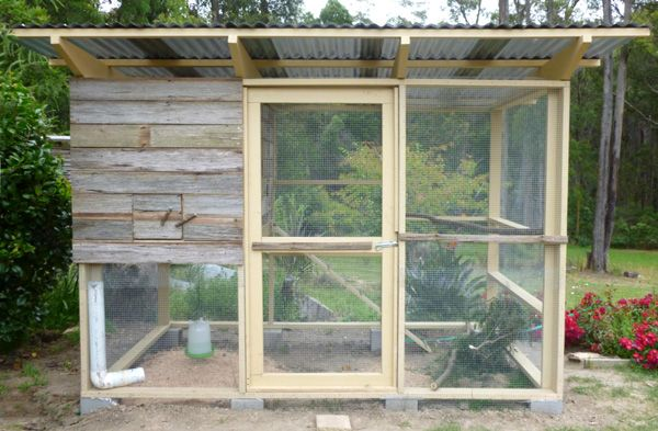 Colin and Faye in Mirboo North, Australia, used The Garden Coop chicken coop plans to build this backyard chook house.