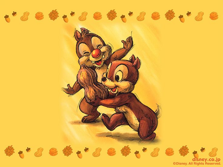 Chip and Dale! Oh! This is so CUTE!