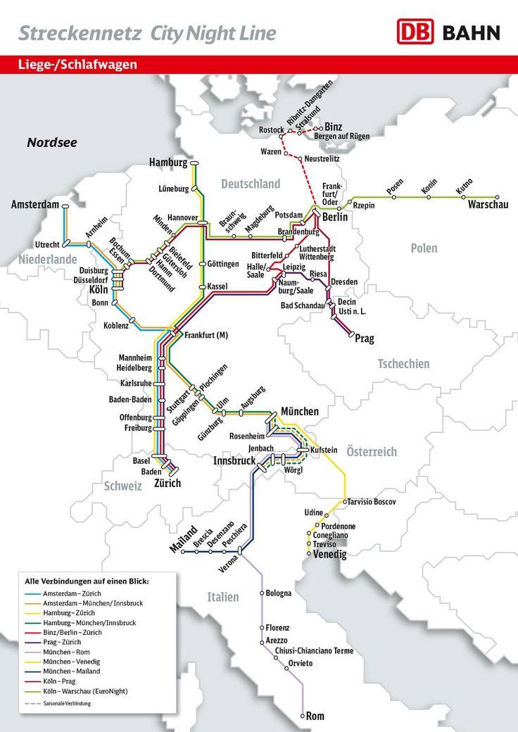 City Night Line - Overnight travel from 60 euros