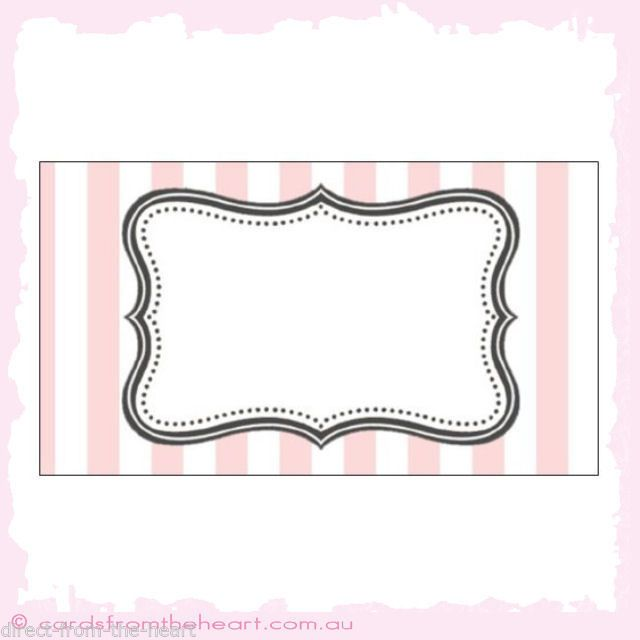 Diy Candy Buffet Label Templates - Home Design