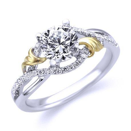 Parade Diamond Two-Tone Engagement Ring R3532/RI-WY