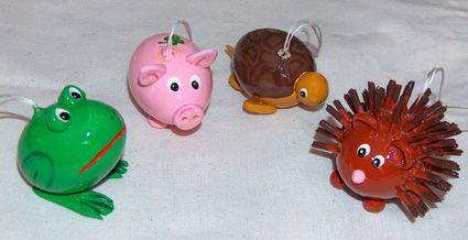 Tiere aus Eiern - website: www.eierbaum-saalfeld.de - mail: designedbygabi@t-online.de