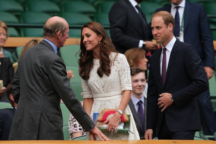Gert's Royals (@Gertsroyals) on Twitter:  Duchess of Cambridge with her husband Prince William and the Duke of Kent, 2016; the Duchess has become the patron of the All-England Lawn Tennis and Croquet Club (AELTC) and the Lawn Tennis Association (LTA), taking over from Queen Elizabeth, while the Duke of Kent remains the president of the AELTC and the Duchess of Gloucester remains the Honorary President of the LTA