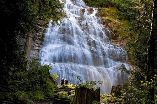 Bridal Veil Falls by R. Sawdon Photography, via Flickr