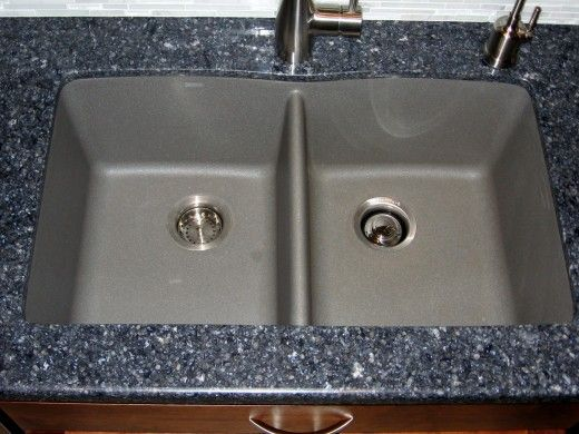 Sink Color ONLY: Blanco Silgranit II - Metallic Gray.  Has to be undermount